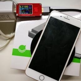 iPhone8可以无线充电吗?绿联无线充电器充电功率实测
